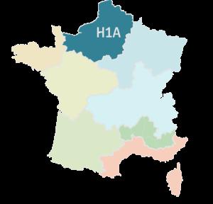 Zone climatique H1A